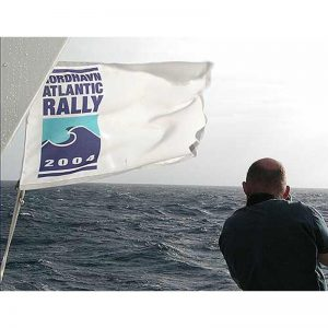 Nordhavn Atlantic Rally Burgee