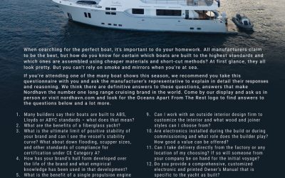 The answers to why Nordhavn is Oceans Apart from the Rest