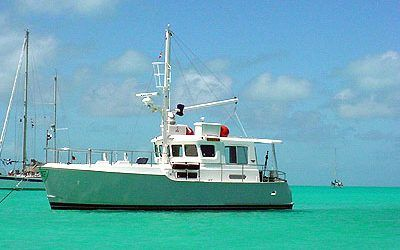 Big adventures in the littlest Nordhavn Cruising the Bahamas in a N35CP