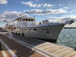 Nordhavn's Boat Show season in full gear