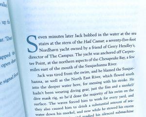 Tom Clancy makes Nordhavn reference in latest novel