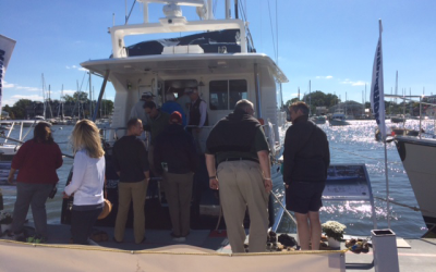 Day 2 at the Annapolis boat show