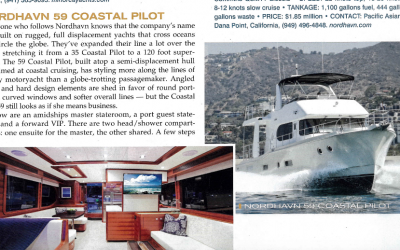 Shoot For The Horizon – Nordhavn 59 Coastal Pilot