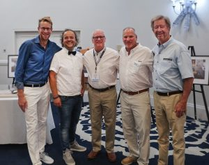 Nordhavn and Vripack joint press conference at the Fort Lauderdale Boat Show