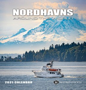 The 2021 Nordhavns Around The World calendar is here!