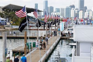 Miami International boat show. Come down and see us at slip 807!