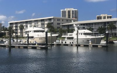 Two new Nordhavns were offloaded in Port Everglades