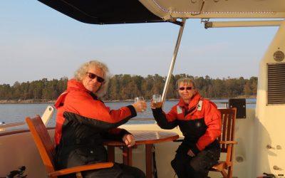 Nordhavn 52 DIRONA arrives in Helsinki