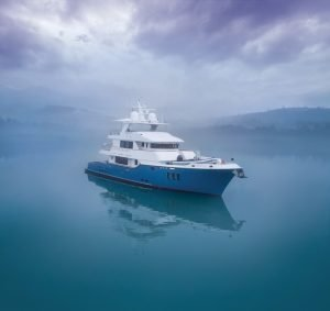 Nordhavn 100 Serenity  named  finalist in the International Superyacht Society (ISS) Design Awards