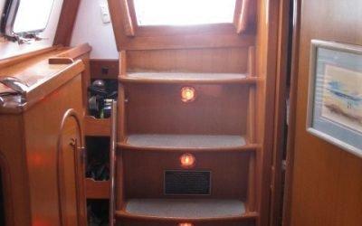 Companionway stairs