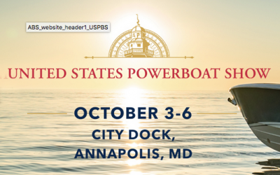 U.S. Power Boat Show –  October 3-6, 2019