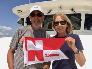 Distance pennants awarded to over a dozen owners this summer