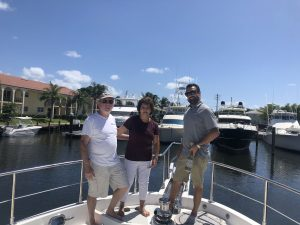 5278 christened  in North Palm Beach, FL
