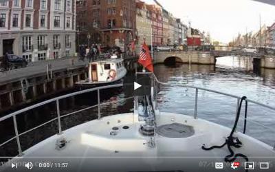 Copenhagen Arrival (MV Dirona Channel)