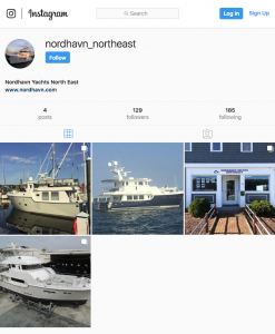 Nordhavn's northeast office joins Instagram