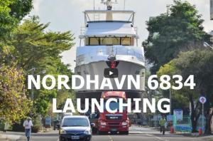 Nordhavn 6834 Launching
