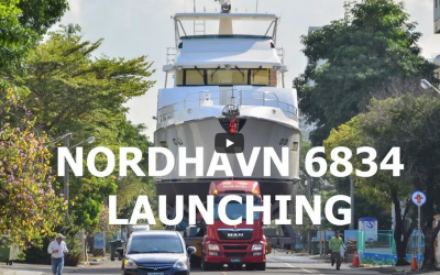 Nordhavn 6834 Launching