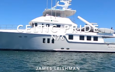 Nordhavn 76- a quick look/tour in Newport beach California
