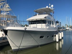 5278 SERENE sea trial and survey in Seabrook,Texas