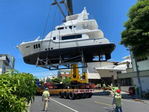 N6836 launch and sea trial – Ta Shing