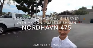 Nordhavn 475 seatrial & full survey by Bunker Hill – James Leishman
