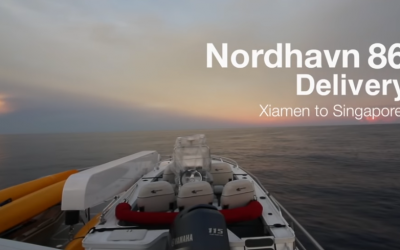 Watch it again: Nordhavn 86 Delivery – Xiamen to Singapore