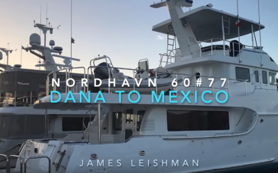 Nordhavn 60 2020 – Owners First Pacific Ocean run N60 hull#77