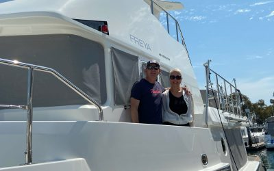 With smarts and a little luck, couple lands their dream Nordhavn