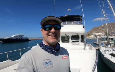New owners ready (in more ways than one) to  commence big voyage home