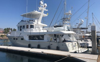 """The brand new Nordhavn 60#79 """"Rainbow's End"""""""