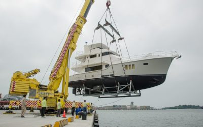 Nordhavn 68#37 launched in Taiwan