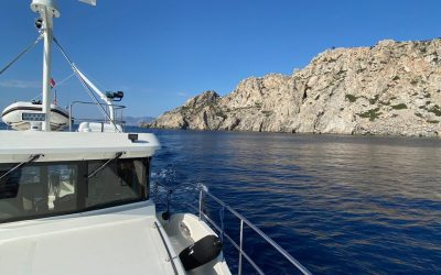 N4103 ESCAPE – Shakedown cruise from Ayvalik to Finike (Turkey)