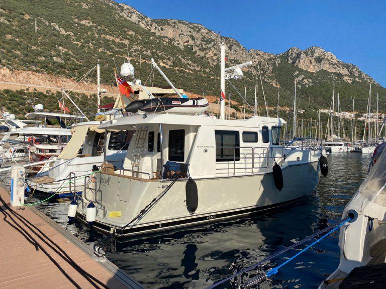 N4103-Shakedown cruise from Ayvalik to Finike (Turkey)