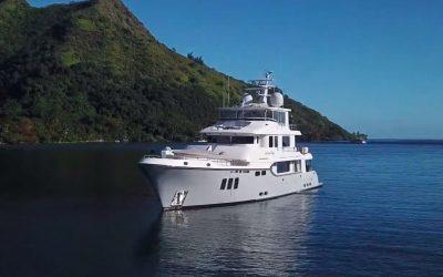Moorea and Fakarava, French Polynesia, 96 ft Nordhavn M/Y video