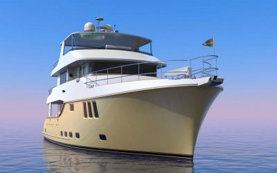 Boat International: A New Expedition Yacht is Born: Inside the Nordhavn 80