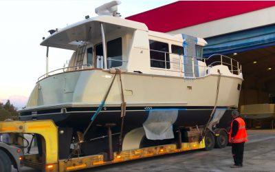 Nordhavn 41 – Trawler Transferi – Teknem Yolda