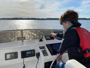 Cruising Odyssey: Owner's Son, 9, Writes About Living on Nordhavn 47