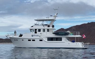 On the Sea of Cortez on the 60′ Nordhavn 'My Serenade'