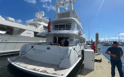 NORDHAVN 86 ARQUIMEDES Delivered to Ft Lauderdale from Australia