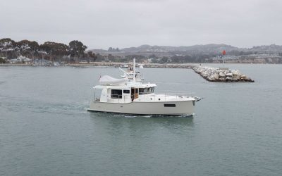 N4102 TAVIE departing Dana Point for Anacortes, WA