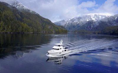 N68-38 delivery: Seattle, WA to Ketchikan, AK. N68 DAYBREAK Green Inlet, B.C.