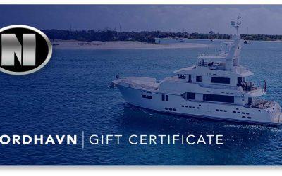 New Nordhavn Gift Certificates