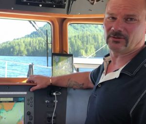 Kitimat to Vancouver Island Ocean Trip Part 1 on our Nordhavn40