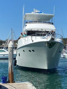 New 6081 arrives in Dana point and commissioning well under way
