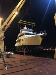 Nordhavn 8001 is on her way to Florida!