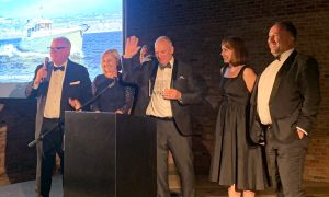 BREAKING NEWS:<br>Nordhavn 41 wins Best Design at the IYAA!