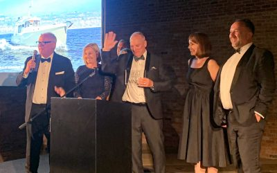 BREAKING NEWS:Nordhavn 41 wins Best Design at the IYAA!