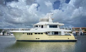 Powerboat World: The first Nordhavn 80 is launched