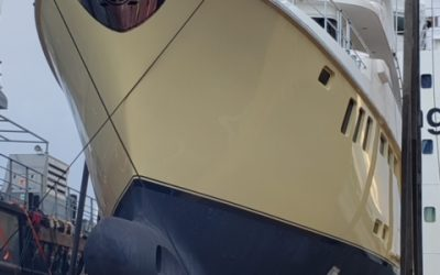 Yacht Forums: Nordhavn Hull N8001 Arrives In The United States