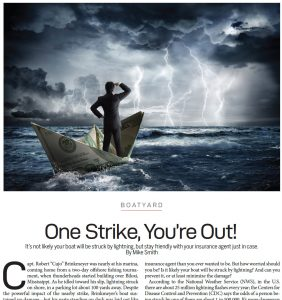 Power & Motoryacht: Nordhavn's electrical engineer discusses lightning strike protection in recent article